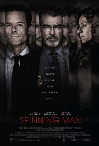 Spinning Man Poster