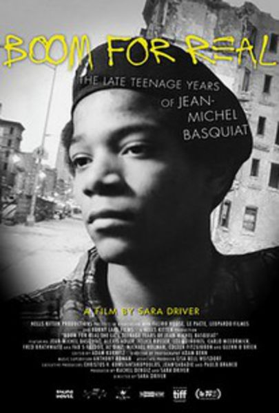 Boom for Real: The Late Teenage Years of Jean-Michel Basquiat (2017) Poster