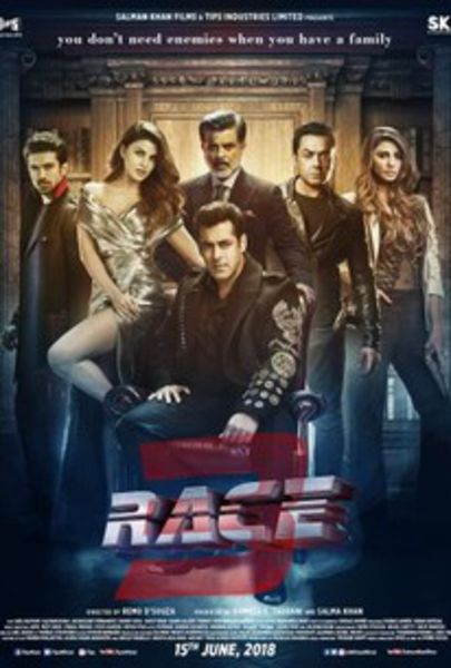 Race 3 (2018) Poster