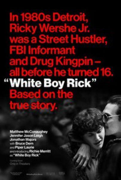 White Boy Rick (2018) Poster
