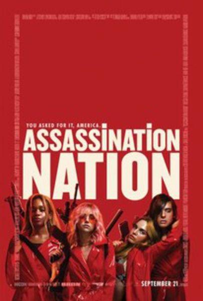 Assassination Nation (2018) Poster