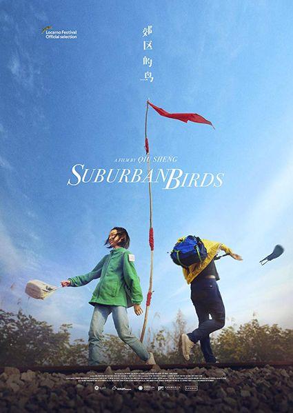Suburban Birds Poster