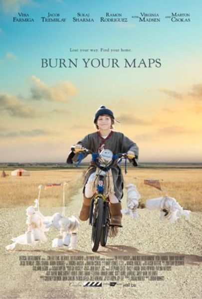 Burn Your Maps Poster