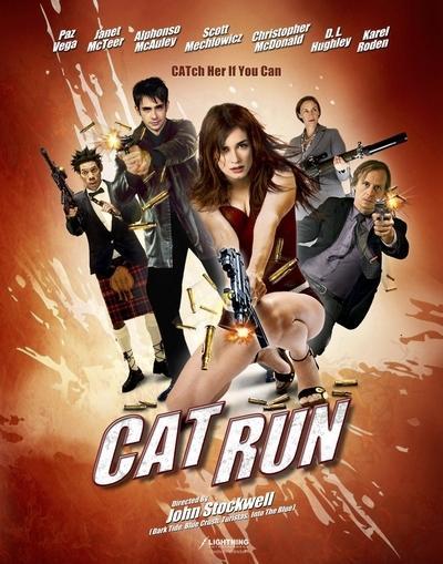 Cat Run Poster