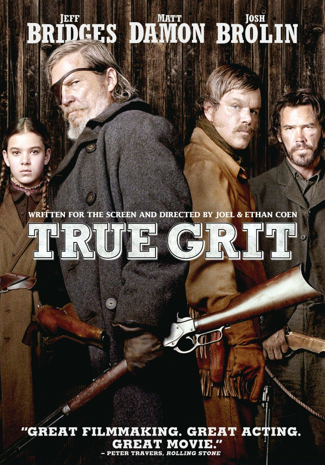 """the lies and deceits of mattie in the film true grit Guest movie review: true grit """"true grit,"""" the 1969 film starring as she lies helpless and desperately injured, mattie looks up and sees rooster cogburn."""