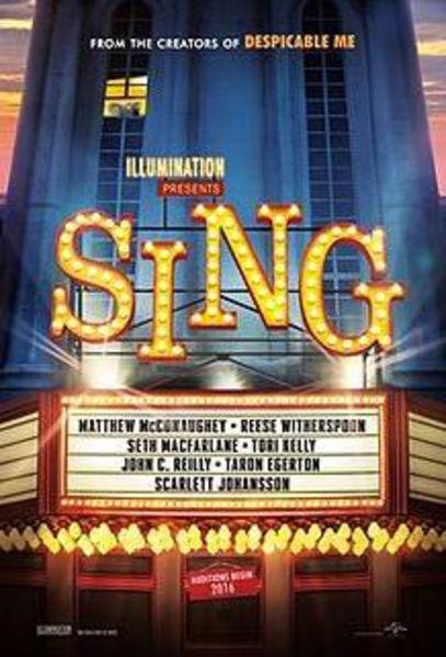Sing(2016) Poster