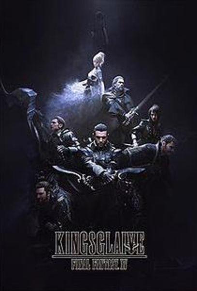 Kingsglaive Final Fantasy XV Poster