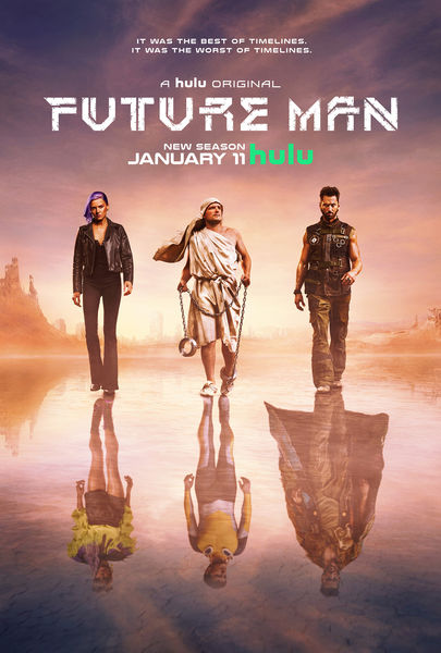 Future Man Season 2 Poster